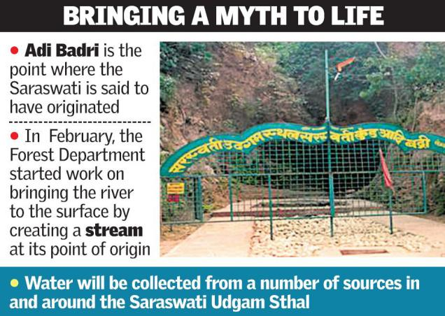 Excavation will soon be starting for the search of 'Saraswati'