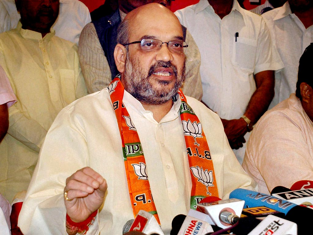 Search for Rahul Gandhi not the faults in ruling party, Amit Shah to congress
