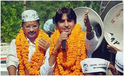 Kumar Vishwas, Arvind Kejrival, AAP