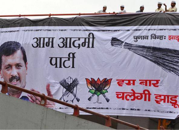 Arvind Kejriwal, Aam Aadmi Party, AAP, Delhi, media