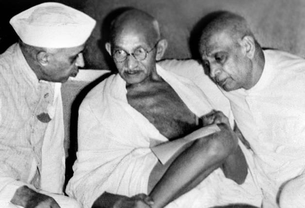 gandhi-patel-nehru